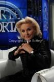 04/02/2014 Roma puntata di porta a porta sui 60 anni della televisione, nella foto: Gabriella Farinon