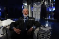 24/01/2013 Roma Porta a porta puntata su Agnelli, nella foto Eugenio Scalfari