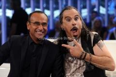 13/09/2013 Roma Tali e Quali Show prima puntata, nella foto: Carlo Conti e Fabrizio Frizzi