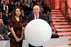 13/11/2016 Roma Domenica in con Pippo Baudo e Chiara Francini