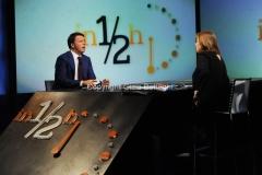04/10/2015 Roma Renzi ospite di Lucia Annunziata ad in mezz'ora