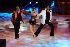 07/12/2013 Roma ultima puntata di Ballando con le stelle, nella foto: Lillo Greg, con Elena Coniglio