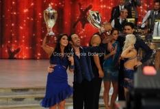07/12/2013 Roma ultima puntata di Ballando con le stelle, nella foto: Francesca Testasecca e Stefano Oradei terzi classificati