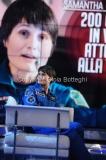 10/12/2015 Roma Cristoforetti ospite di Porta a porta di Bruno vespa