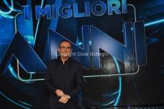 29/04/2016 Roma prima puntata della trasmissione I MIGLIORI ANNI, nella foto Carlo Conti