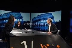 12/06/2016 Roma faccia a faccia a in mezz'ora dei candidati sindaci di Roma Raggi e Giachetti