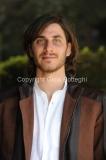 30/03/2012 Roma, presentazione della fiction di raiuno MARIA DI NAZARET, nella foto: Luca Marinelli