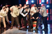 15/10/2016 Roma prima puntata del programma di rai uno 10 cose, nella foto i conduttori Flavio Insinna e Federico Russo