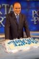 29/1/09 festeggiamenti per la puntata di porta a porta numero 1500, nella foto Vespa,