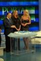 29/1/09 festeggiamenti per la puntata di porta a porta numero 1500, nella foto Vespa, Prestigiacomo , Marini,