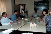 riunione di redazione del tg1 saxa rubra