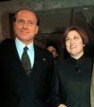 Lucia Anninziata in RAI con Berlusconi