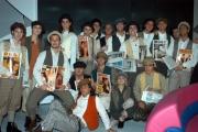 DESTINI rete 4 in onda la prima puntata il 16/12/2003 conduce la Spaak  , ospiti, nelle foto:De Blanck Patrizia, Pasquale e Vittoria ( vestiti da sposi), O. Berti, Parietti, C. Russo e Turchi.