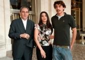 I due protagonisti del film PERDUTO AMOR di Franco Battiato Corrado Fortuna e Donatella Finocchiaro