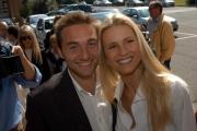 Michelle Hunziker presenta il suo nuovo spettacolo televisivo SUPER STAR SHOW su retequattroqui con il suo fidanzato Marco