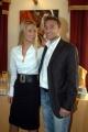 Michelle Hunziker presenta il suo nuovo spettacolo televisivo SUPER STAR SHOW su retequattrocon il suo fidanzato Marco