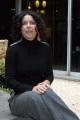 Sabina Guzzanti presenta la sua nuova trasmissione su raitre   RAIOT con lei nelle foto anche Lucia Annunziata Presidente della RAI che la Guzzanti imita nella sua trasmissione