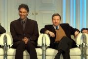 nella trasmissione  porta a porta con Jean Todt e Bocelli