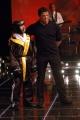 Silvester stallone ospite da  Fiorello con Tommaso