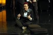Baudo e Fiorello ballano le coreografie di Pendleton
