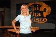 Il nuovo studio di CHI L'HA VISTO Federica sciarelli