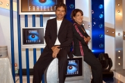 Grande fratello 5 Marco Liorni e  Barbara D'Urso