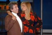 Fabrizio Del Noce direttore di rai UNO E Mara Venier Domenica in