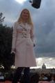 Gwnyneth Paltrow a Roma per presentare il suo nuovo film Skay Captain nelle foto sulla terrazza del Pincio per TRL