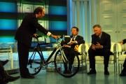 PORTA A PORTA del 27-10-04ospite Romano Prodi con Francesco Moser