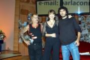 PARLA COM ME  Claudio Mancini detto Principe in trsmissione con Dandini e Andrea  Rivera