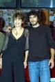 PARLA COM ME Serena Dandini con  ed il comico Andrea Rivera.
