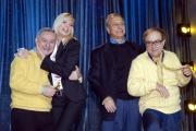 Tele FAIDATE canale 5 dal Bagaglino di Roma nelle foto: Pippo Franco, Leo Gullotta, Oreste Lionello,Matilde Brandi