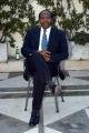 7/3/05Hotel Rwanda conferenza stampa romanelle foto: Paul RUsesabagina, l'uomo che ha ispirato la storia del film