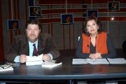Gioia Botteghi/OMEGA 11/03/05ottoemezzo la7Giuliano Ferrara e Ritanna Armeni