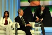 Gioia Botteghi/OMEGAporta a porta 16/03/05Francesco Rutelli e la sua coca cola