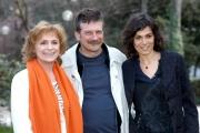 Gioia Botteghi/OMEGA 30/03/05Conferenza stampa di LA FEBBRE filmnelle foto Alessandro D'Alatri, Valeria Solarino  , Gisella Burinato