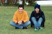 Gioia Botteghi/OMEGA 30/03/05Conferenza stampa di LA FEBBRE filmnelle foto i Negramaro che hanno fatto la colonna sonora