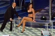 Gioia Botteghi/OMEGASabato Italiano raiuno 090405   Julia  Smith con Baudo