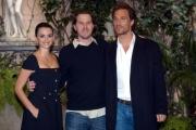 Gioia Botteghi/OMEGA 11/04/05conferenza stampa del film SAHARAnelle foto: il regista Breck Eisner ,Penelope Cruz e il protagonista del film Matthew McConaughey suo attuale fidanzato