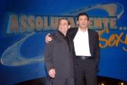 prima puntata di ASSOLUTAMENTE raiunonelle foto: Fabrizio Frizzi con Francesco Salvi