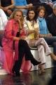 prima puntata di ASSOLUTAMENTE raiunonelle foto: Ursula Andress con Edvige Fenech