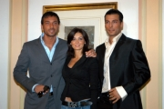 Conferenza stampa del film Troppo Bellinelle foto: Coastantino Vitagliano, Alessandra Pierelli, Daniele Interrante