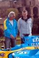 Gioia Botteghi/OMEGA 17/04/05ROADSHOW RENAULT Roma Circo MassimoPhilip Dauger direttore generale di Renault Italia, Flavio Briatore