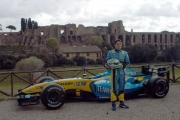 Gioia Botteghi/OMEGA 17/04/05ROADSHOW RENAULT Roma Circo MassimoG. Fisichella