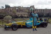 17/04/05ROADSHOW RENAULT Roma Circo MassimoG. Fisichella