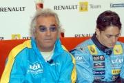 Gioia Botteghi/OMEGA 17/04/05ROADSHOW RENAULT Roma Circo MassimoF. Briatore,  G. Fisichella