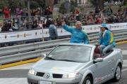 Gioia Botteghi/OMEGA 17/04/05ROADSHOW RENAULT Roma Circo MassimoFlavio Briatore e Carolina Marconi