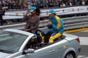 Gioia Botteghi/OMEGA 17/04/05ROADSHOW RENAULT Roma Circo MassimoFranck Montagny terzo pilota e collaudatore e Denny Mendez
