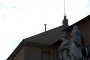 Gioia Botteghi/OMEGA 18/04/05fumata in Vaticano