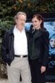 Conferenza stampa del film LE CROCIATEnelle foto:  Eva  Green e Ridley Scott